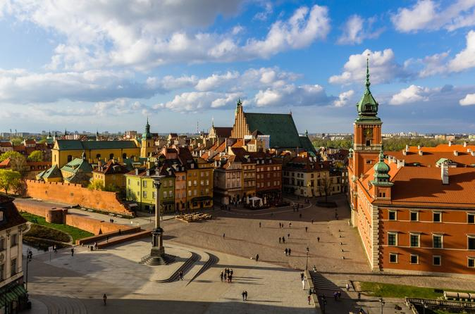 Afternoon Trip: Warsaw - The City Of Two Old Towns