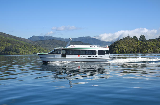 Marlborough Sounds Cruise from Picton