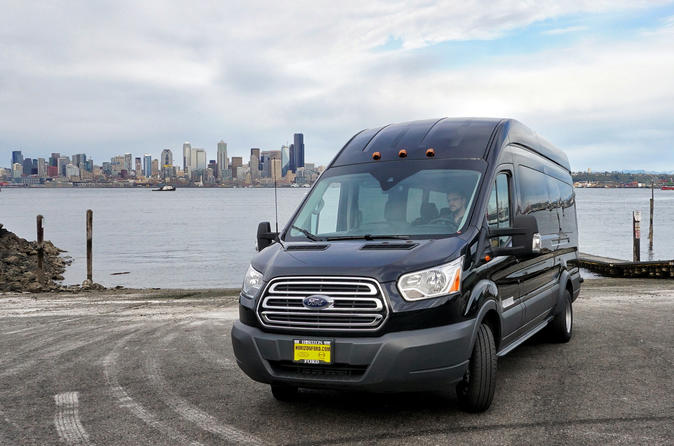 14 Passenger Private Transport: Cruises - Sea-Tac - Seattle Hotels