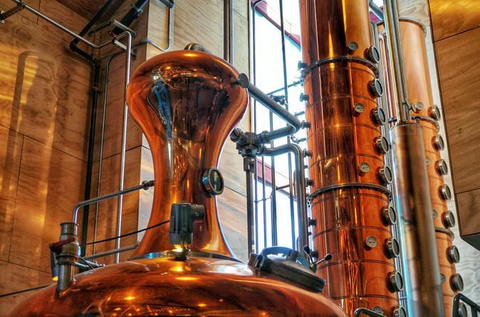 Seattle Premium Distillery Tour Including 3 Tasting Flights & Snacks