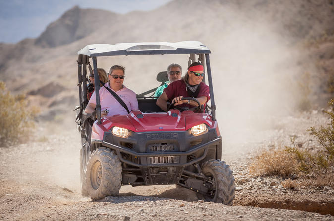 Grand Canyon Helicopter Tour and Jeep or ATV Tour with Optional Canyon Landing