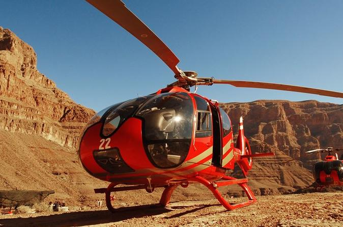 Grand Canyon Helicopter Tour with Champagne from Las Vegas