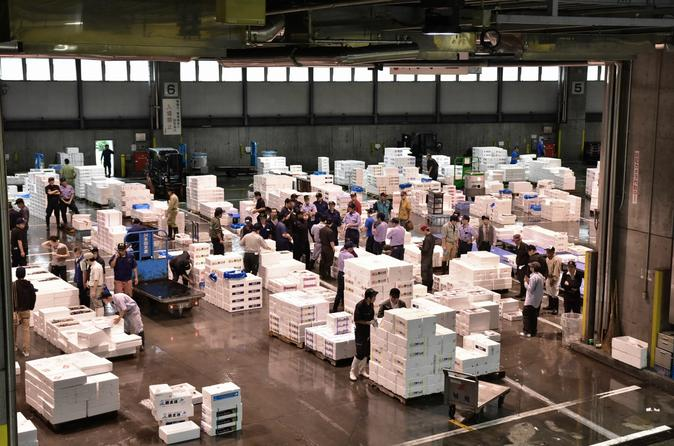 Sapporo Central Wholesale Market Private Tour with Local Licensed Guide