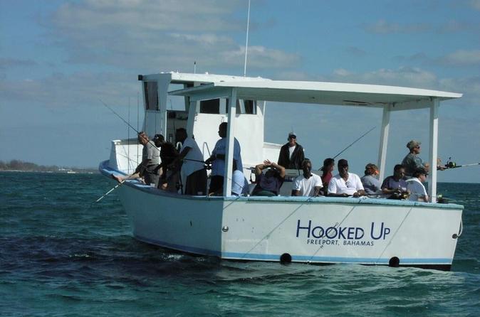 Reef Fishing in Grand Bahama