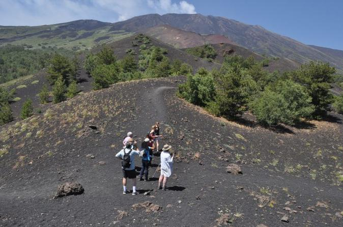 Etna & Taormina one day tour small group from Syracuse
