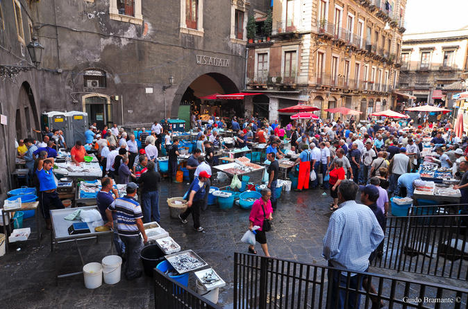 Food Walking Tour Catania