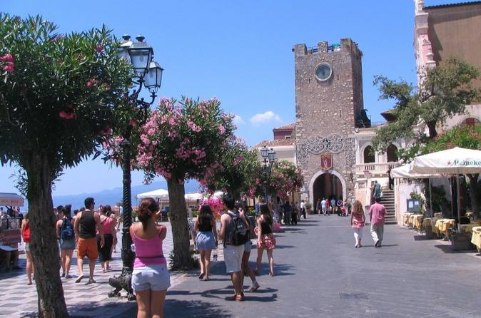 Taormina Savoca and Castelmola one day tour from Syracuse