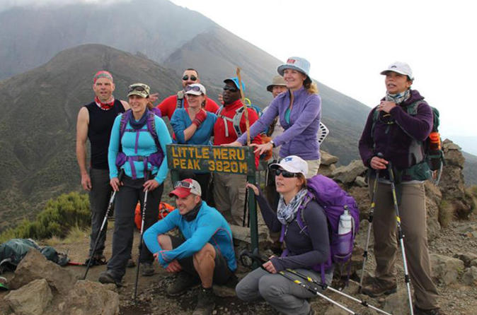 4 Days - 3 Nights Climbing Mount Meru - Arusha
