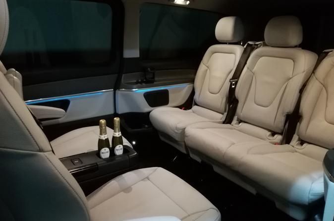 Posillipo-Mergellina Sightseeing in Luxury Car