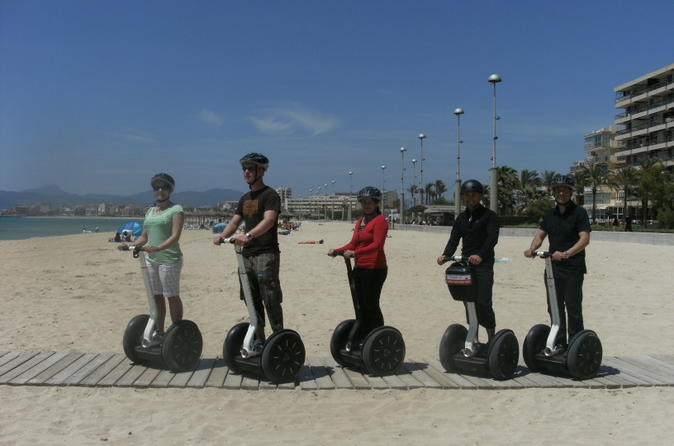 Palma de mallorca segway tour including palma cathedral and portixol in mallorca 162105
