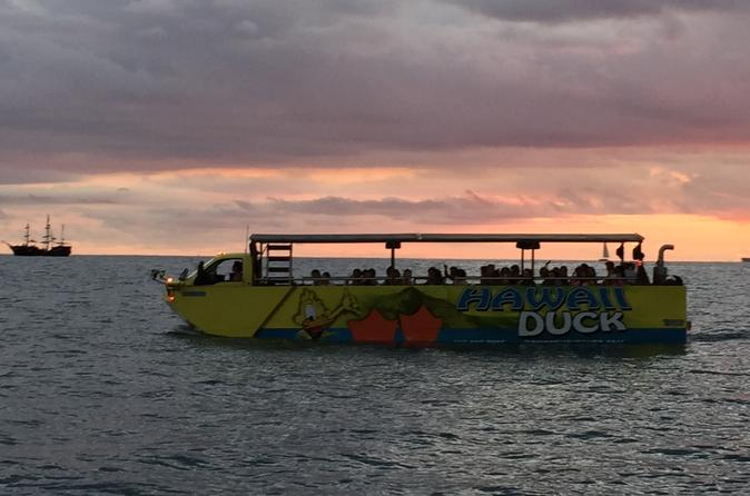 Sunset Duck Tour in Oahu