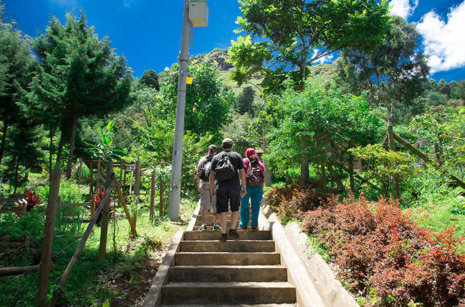 Medellin trekking, Path of Life and Pan de Azucar hill