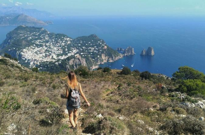 From The Sea To The Mountains, Capri And Anacapri