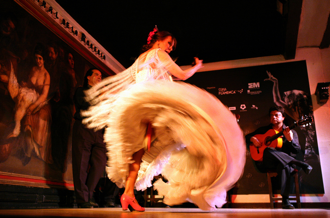 Show de flamenco no Corral de la Morería, em Madrid