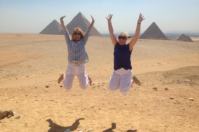 Full Day Tour to Pyramids of Giza & Memphis with Lunch