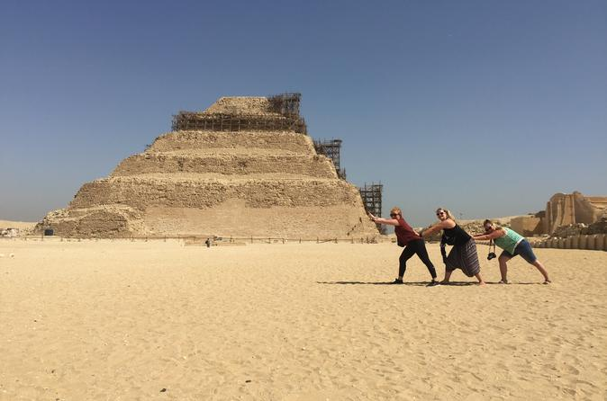 Private Half Day Tour to Memphis and Sakkara with Entrance Fees