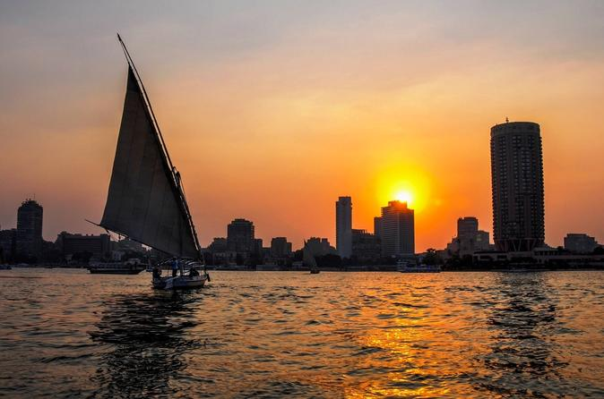 Ride Felucca Boat on Nile River at Sunset