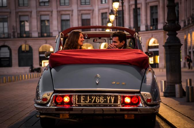Luxury and romantic tour: Exceptional French classic car