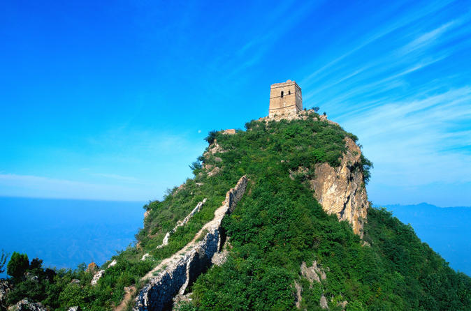 3 Days Bus Group Tour Including 3 parts of Beijing Great wall