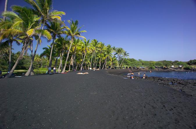 Ilha Grande em um dia: excursão para grupos pequenos por vulcões, cachoeiras, passeio turístico e história