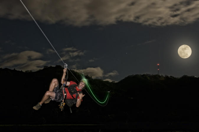 Kauai Zipline Night Adventure