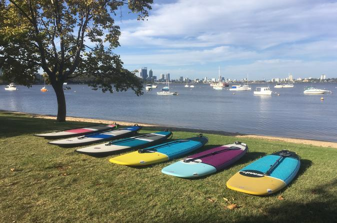 Stand Up Paddle Boarding - 2 Person Lesson - 1 Hour - Perth