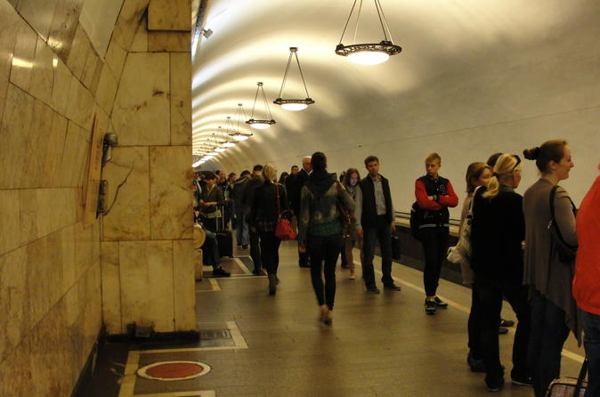 Moscow metro underground small group tour in moscow 254227