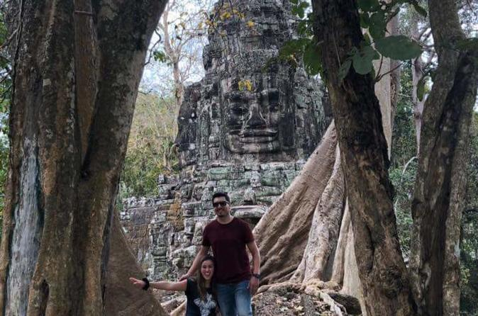 Great Wall Cycling Tour Of Angkor Temple - Siem Reap