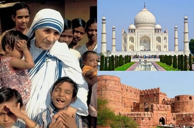 Taj Mahal & Agra Fort With Mother Teresa's Missionaries Of Charity From Delhi