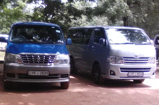 Transfer from pasikudah to airport, Colombo or nigombo