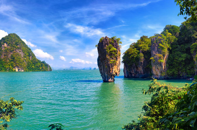 Phang nga bay tour from phuket by traditional junk boat in phuket 179940
