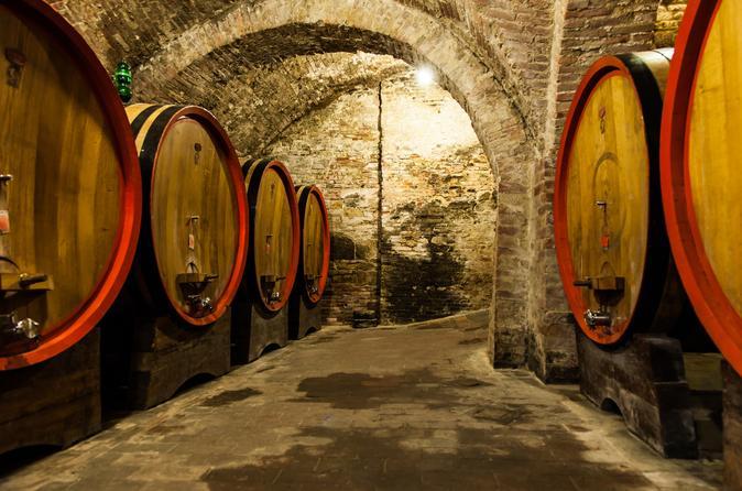 Shore Excursion: Private Chianti Classico Tour with Lunch from Livorno