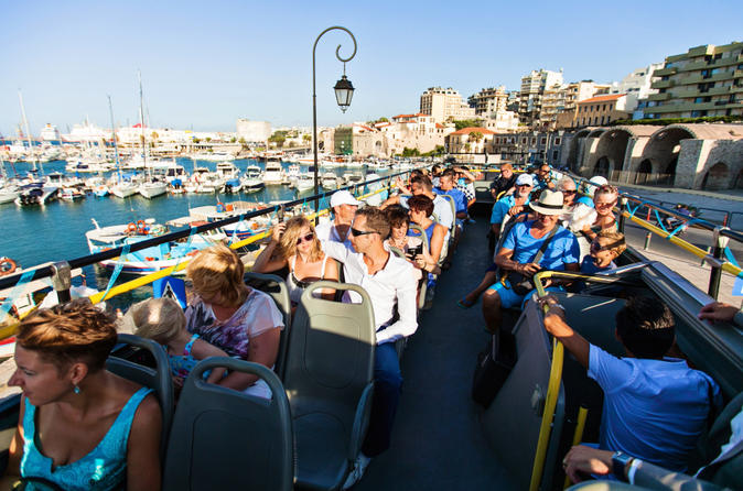 Heraklion hop on hop off bus tour in heraklion 164837