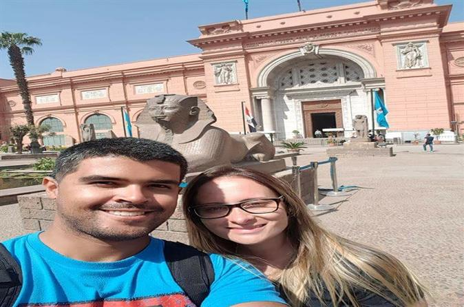 Best Tour Pyramids-Egyptian Museum- Bazaar Including Lunch-Camel Ride - Cairo