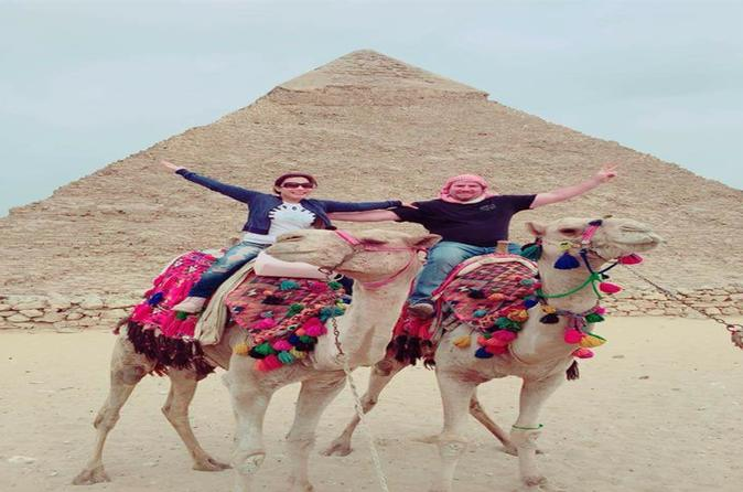 Day Tour Pyramids And Sphinx Memphis And Saqqara - Cairo
