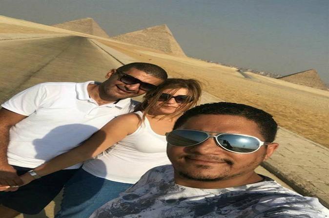 Full-day Tour Giza Pyramids, Sphinx, Memphis, Saqqara - Cairo