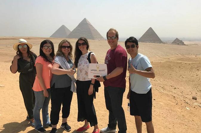 Giza pyramids and Nile dinner Cruise