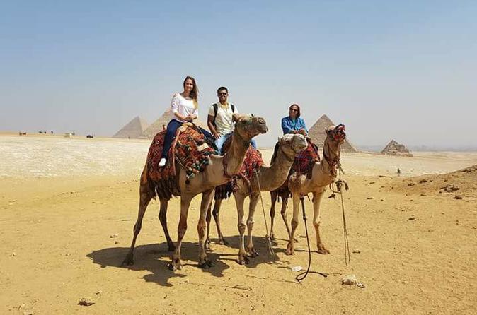 Giza Pyramids-Camel Ride-Trip During Sunrise Or Sunset - Professional Camera Man - Cairo