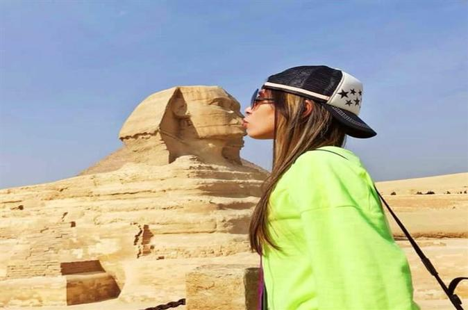 Private Day Tour From Cairo: Memphis And Saqqara And Giza Pyramids,Sphinx