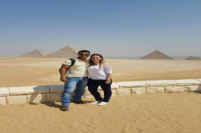 Private Day Tour to the Pyramids of Giza, Saqqara, Memphis and Dahshur