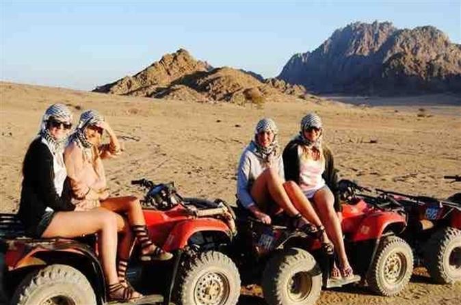 Quad Biking In Desert Sharm El Sheikh - Sharm El-sheikh