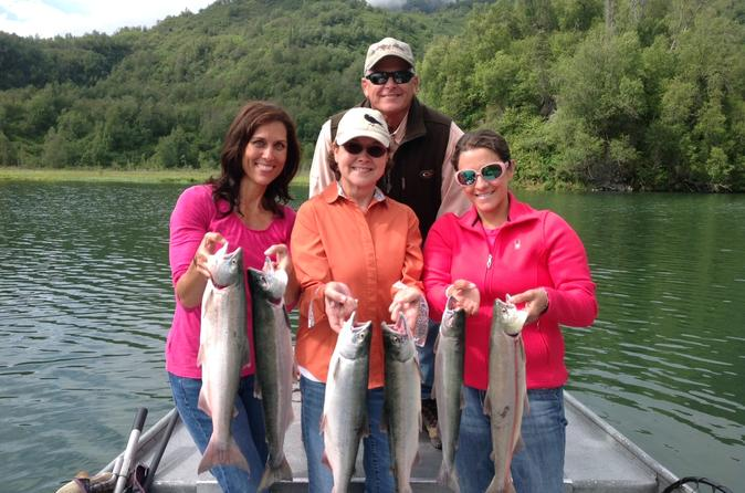 Wolverine Creek Fly Out Sockeye Salmon Fishing From Soldotna