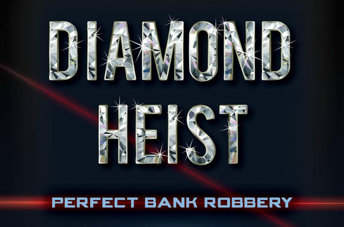 Diamond Heist Escape Room Experience