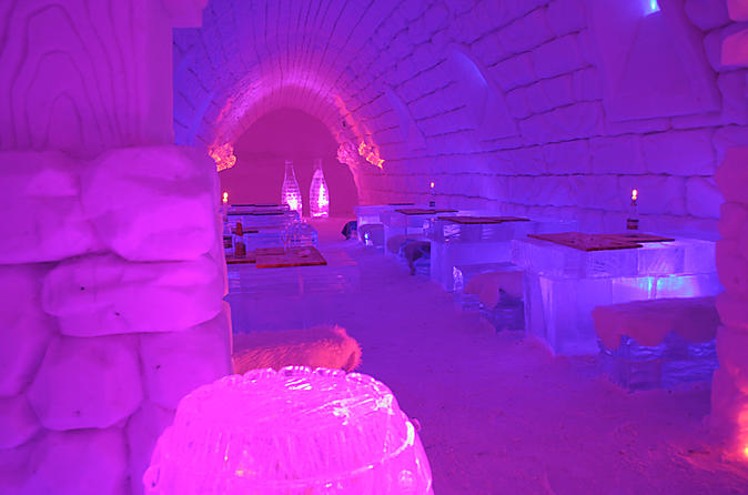 Lapland Northern Lights Experience at the Snow Village from Ylläs