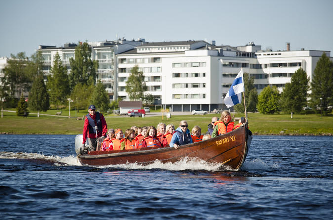 Riverboat and Reindeer Farm Tour from Rovaniemi