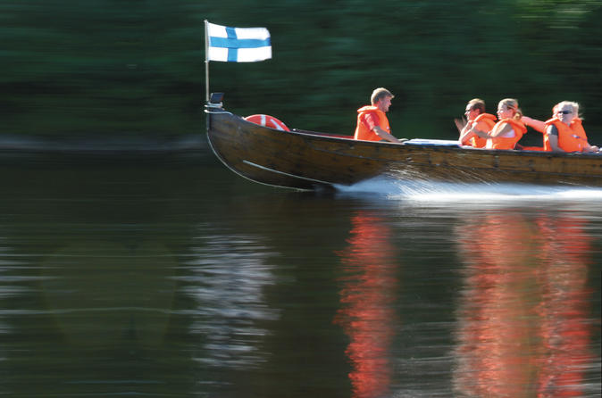 Riverboat cruise from rovaniemi in lapland 182759
