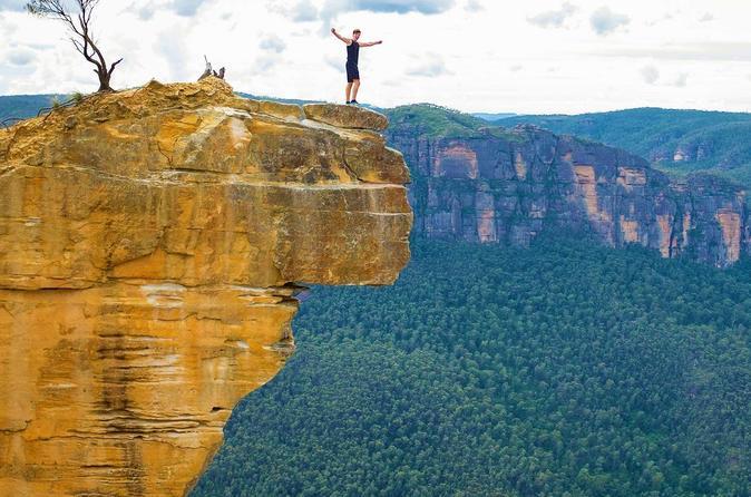 Blue Mountains Hanging Rock Self-Guided Mountain Bike Tour