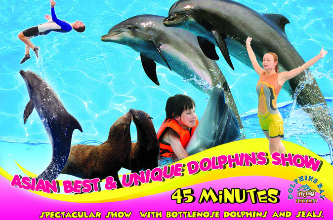 Dolphins Bay Phuket Admission Ticket