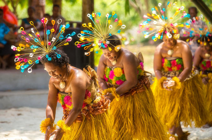 Culture Village Walking Tour With Meke Entertainment And Lovo  Lunch - Nadi