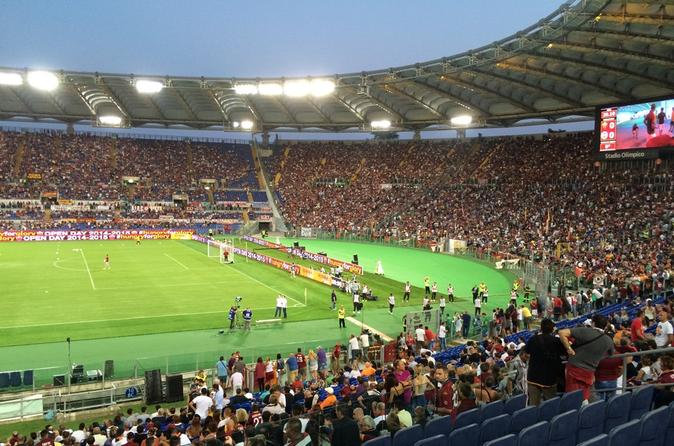 Rome VIP Seating at AS Roma's Stadio Olimpico Including Gourmet Buffet and Open Bar Italy, Europe